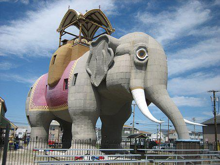 Lucy, Elephant, Margate, Margate City, New Jersey