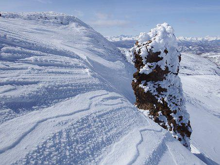 Mountains, Ridge, Winter, Snow, Frost, Cold, Snowdrifts