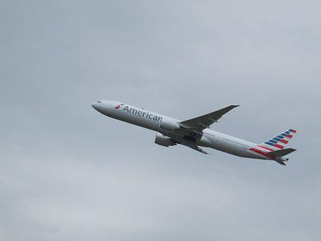 Plane Spotting, Plane, Heathrow, American Airlines