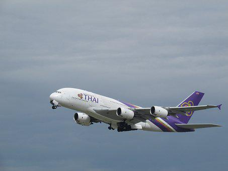 Plane Spotting, Plane, Heathrow, Thai Airlines