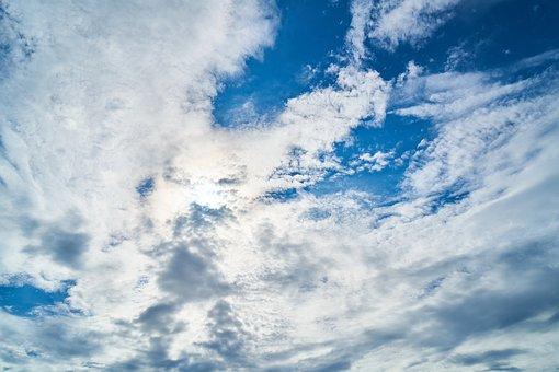 Cloud, Light, Landscape, Reverse Light, Clouds, Blue