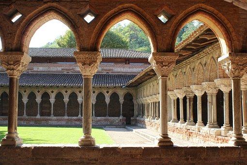 Moissac, Abbey, Route Of Santiago De Compostela
