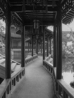 Yuyan Garden, Shanghai, China, Old Town, Garden, Temple
