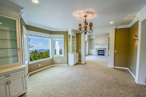 Home, View, House, Window, White, Design, Lifestyle
