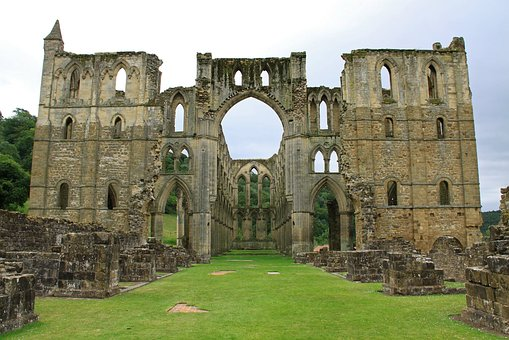 Rievaulx Abbey, Uk, Yorkshire