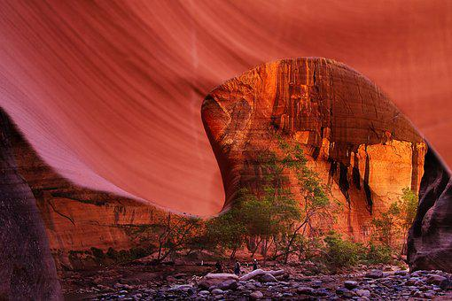 Red Rocks, Zion, Zion National Park, The Narrows