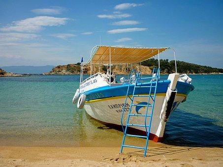 Greece, Chalkida, Island, Ammouliani