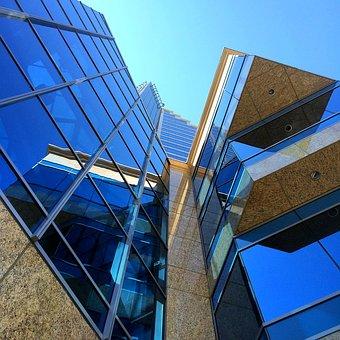 Skyscraper, Building, Architecture, Triangle, Angles