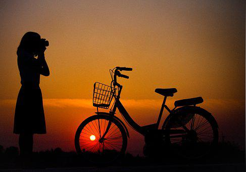 Bicycle, Home, The Light, Light The Way, Travel, Green