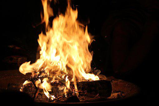 Fire, Campfire, Flame, Hot, Burn, Red, Flammable, Heat