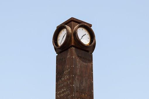 Clock, Port Clock, Tower, Tourism, Attraction, Paphos