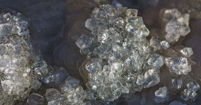 Crystal, Datolite, Mineral, Crystalline, Stone, Rock