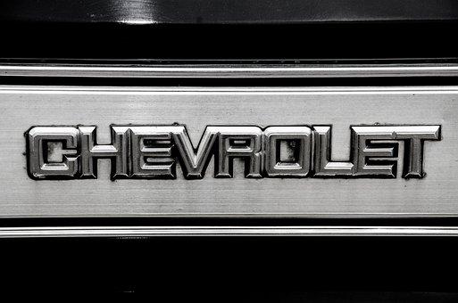 Chevrolet, Sign, Decor, Auto, Automobile, Car