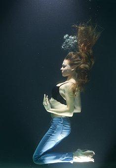 Woman, Water, Fiction, Freedom, Fashion, Breath, Deep