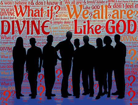 Divine, God, We, Us, Spiritual, Godly, God-like