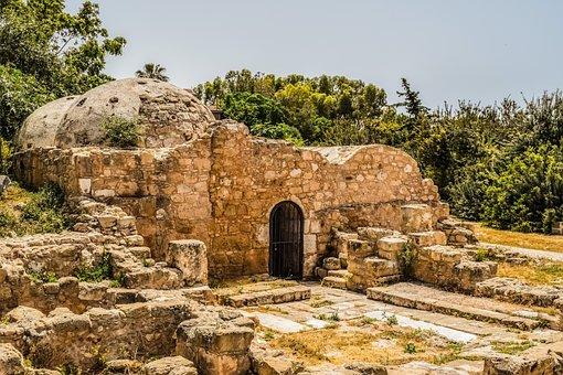 Hammam, Ottoman, Architecture, Remains, Paphos, Cyprus