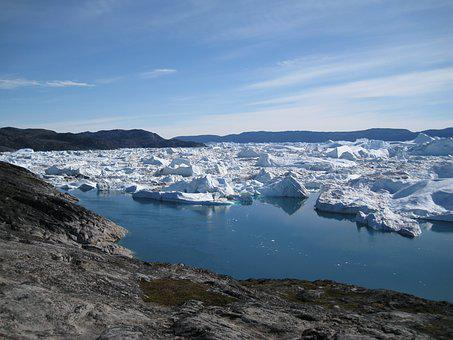 Jakobshavn, Icebergs, Greenland, The Icefjord
