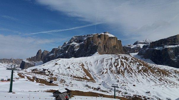 Italy, Sella Ronda, Dolomites