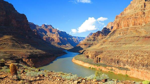Usa, Grand Canyon, The Grand Canyon, Landscape, Rocks