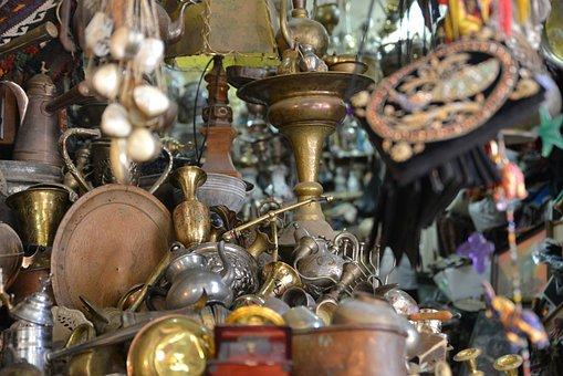 Jerusalem, Market, Arab, Traditional, Bazaar, Israel