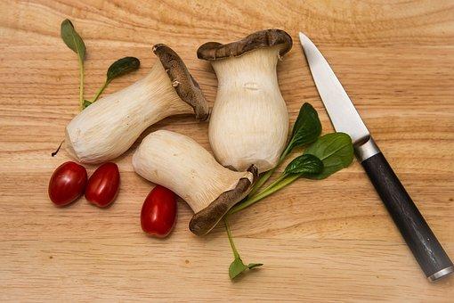 Mushroom, Oyster, Pleurotus Eryngii, Delicacy
