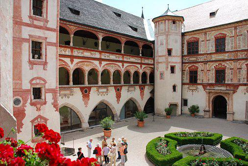 Austria, Castle, Guided Tour, Schloss Tratzberg, Stans