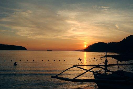 Sunset, Beach, Province, Ocean, Sea, Beach Sunset, Sky