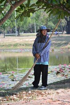 Thailand, Working Women, Worker, Planter