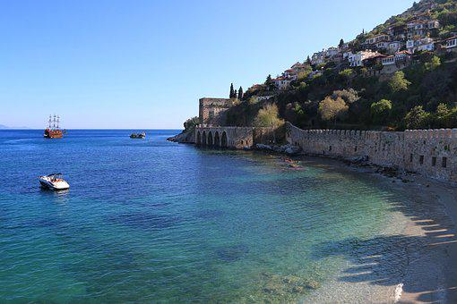 Alanya, Antalya, Marine, Landscape, Turkey