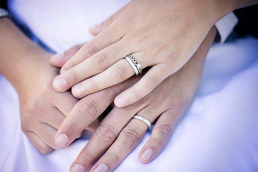 Rings, Hands, Wedding, Marriage, Engagement, Couple