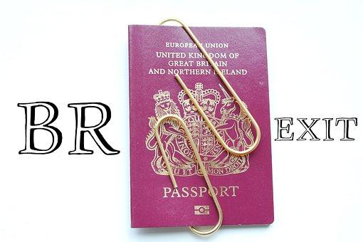 Brexit, Passport, Control, Closed, Sealed, British
