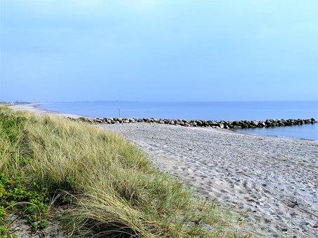 Baltic Sea, Coast, Sea, Sand Beach, Germany