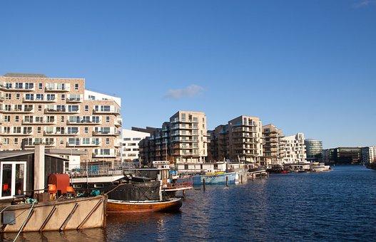 Appartments, Houses, Copenhagen, Denmark, Harbour