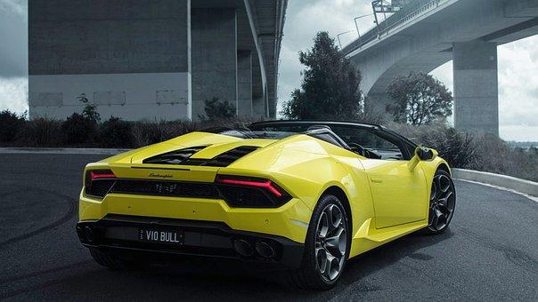 Lamborghini, Huracan, Spyder