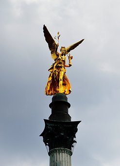 Angel Of Peace, Gold, Munich