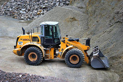 Wheel Loader, Quarry, Quarry Operation
