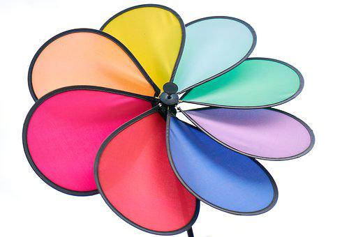 White, Fund, Color, Colorful, Wind, Fly, Return, Red