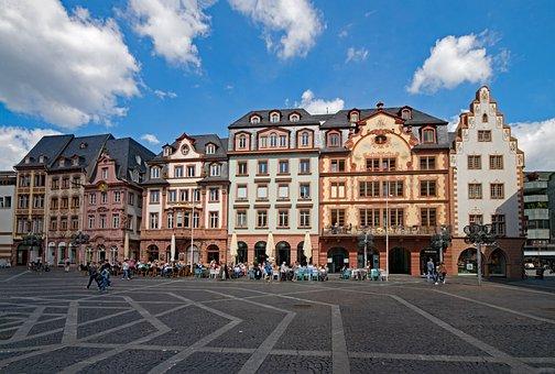 Marketplace, Mainz, Sachsen, Germany, Europe