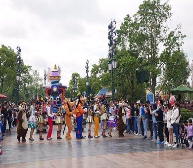 Shanghai, Shanghai Disneyland, China, Theme-park