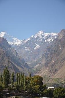 Snow Mountain, Nausicaa, Hunza, Pakistan