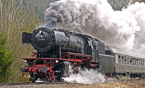 Full Steam, Steam Locomotive, Acceleration, Chimney
