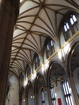 Church, Cathedral, Blackburn, Architecture, Anglican