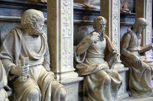 St Denis, Basilica, Royal, Statue, St Pierre