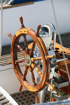 Wheel, Ship, Steering, Nautical, Boat, Sea, Travel