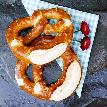 Pretzel, Breze, Laugenbreze, Snack, Bavaria, Bavarian