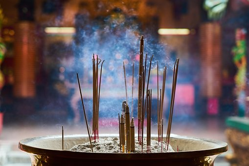 Incense, Prayer, Buddhism, Travel, Temple, Religion