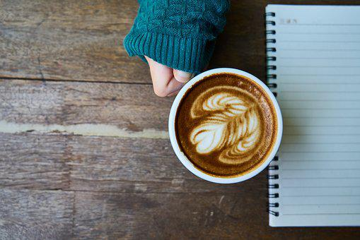 Coffee, Latte, Brown, Background, Coffee Cup