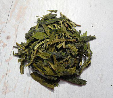 Tea Leaves, Green Tea, Tea, Foliage, Dried Leaves