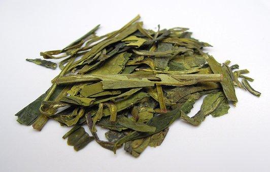 Tea Leaves, Green Tea, Tea, Dried Leaves, Food
