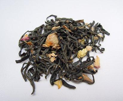 Tea, Tea Leaves, Green Tea, Dried, Dried Leaves, Food